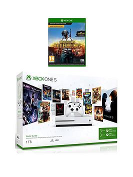xbox-one-xbox-one-s-1tb-console-starter-kit-playerunknown039s-battlegrounds-wireless-controller