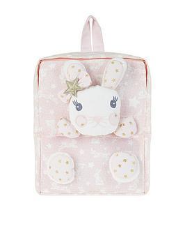 Monsoon Girls Lila Bunny Backpack