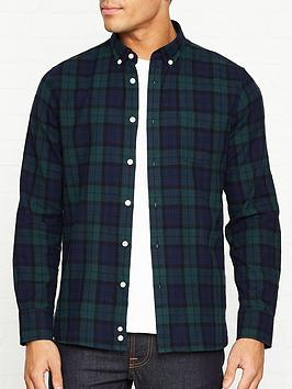 penfield-young-tartan-check-shirt--nbspgreennavy