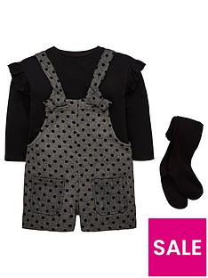 mini-v-by-very-girls-spot-dungaree-shorts-top-and-tights-outfit-black