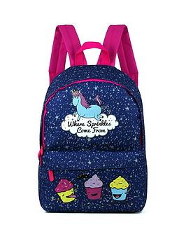 David & Goliath Unicorn Glitter Backpack
