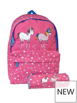 david-goliath-unicorn-pink-backpack-with-pencil-case
