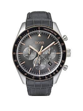 boss-1513628-trophy-chronograph-grey-dial-crocodile-leather-strap-mens-watch