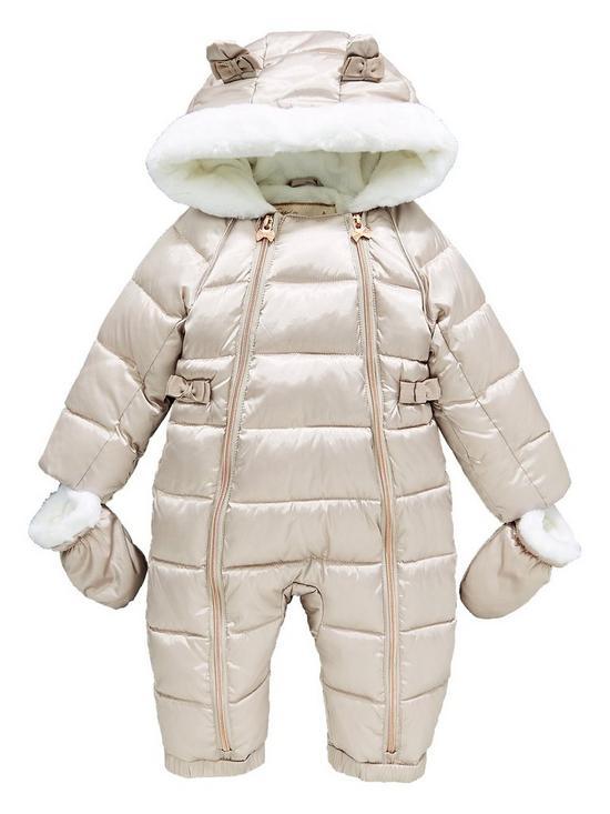 71b178d48 great fit 7fc1e 87a71 baby girls snowsuit 0 12 month ...