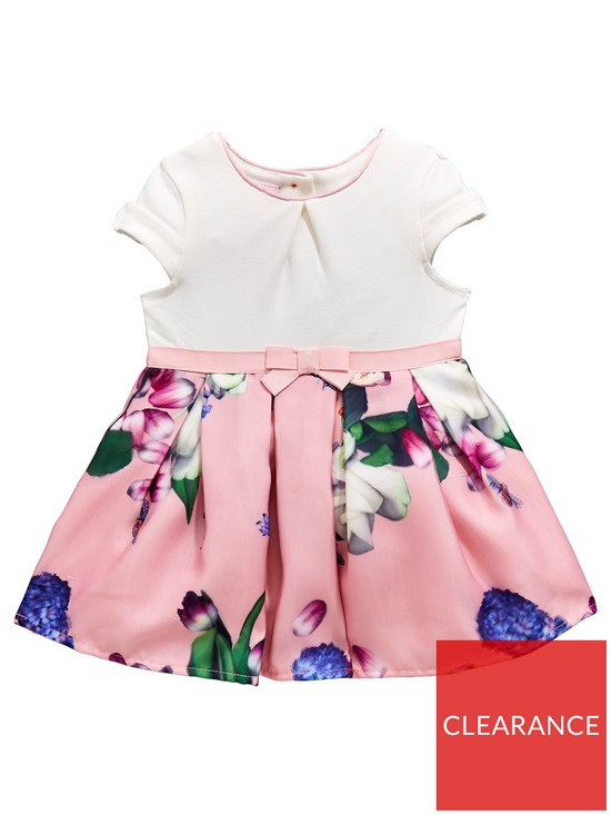 0d78dfb7e Baker by Ted Baker Baby Girls Mockable Dress - Light Pink