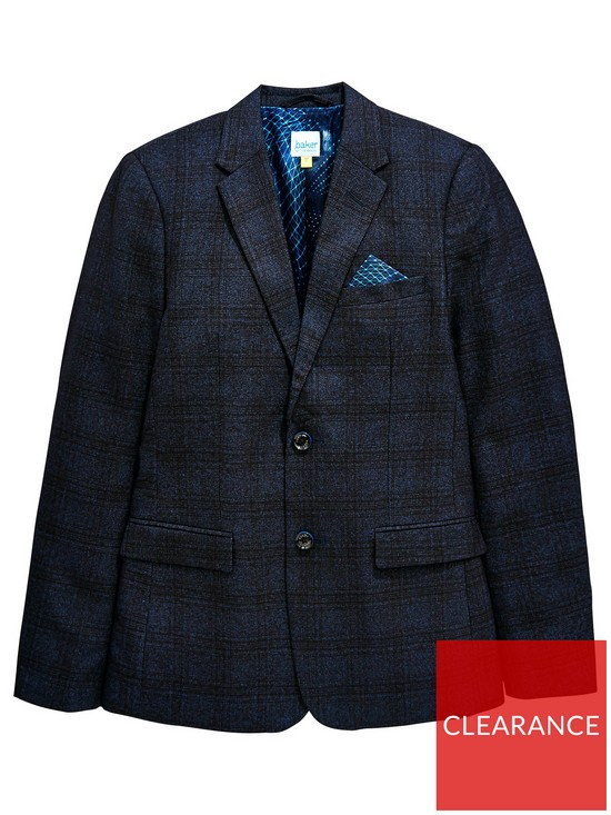 b882ecdcae059d Baker by Ted Baker Boys Check Formal Jacket