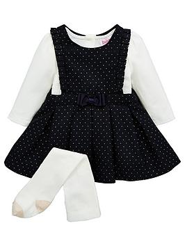 baker-by-ted-baker-baby-girls-dobby-spot-pinny-outfit