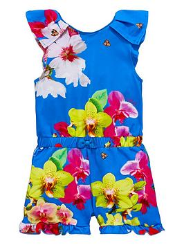baker-by-ted-baker-girls-floral-playsuit
