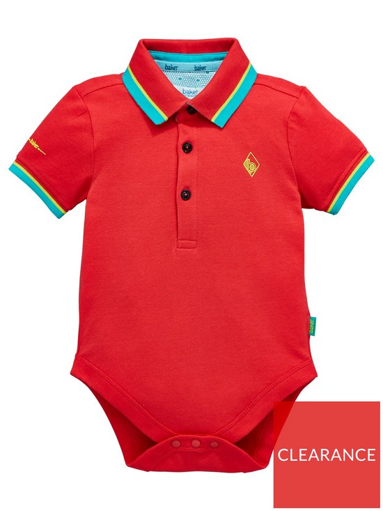 34702d1f08c4ac Baker by Ted Baker Baby Boys Icon Polo Bodysuit