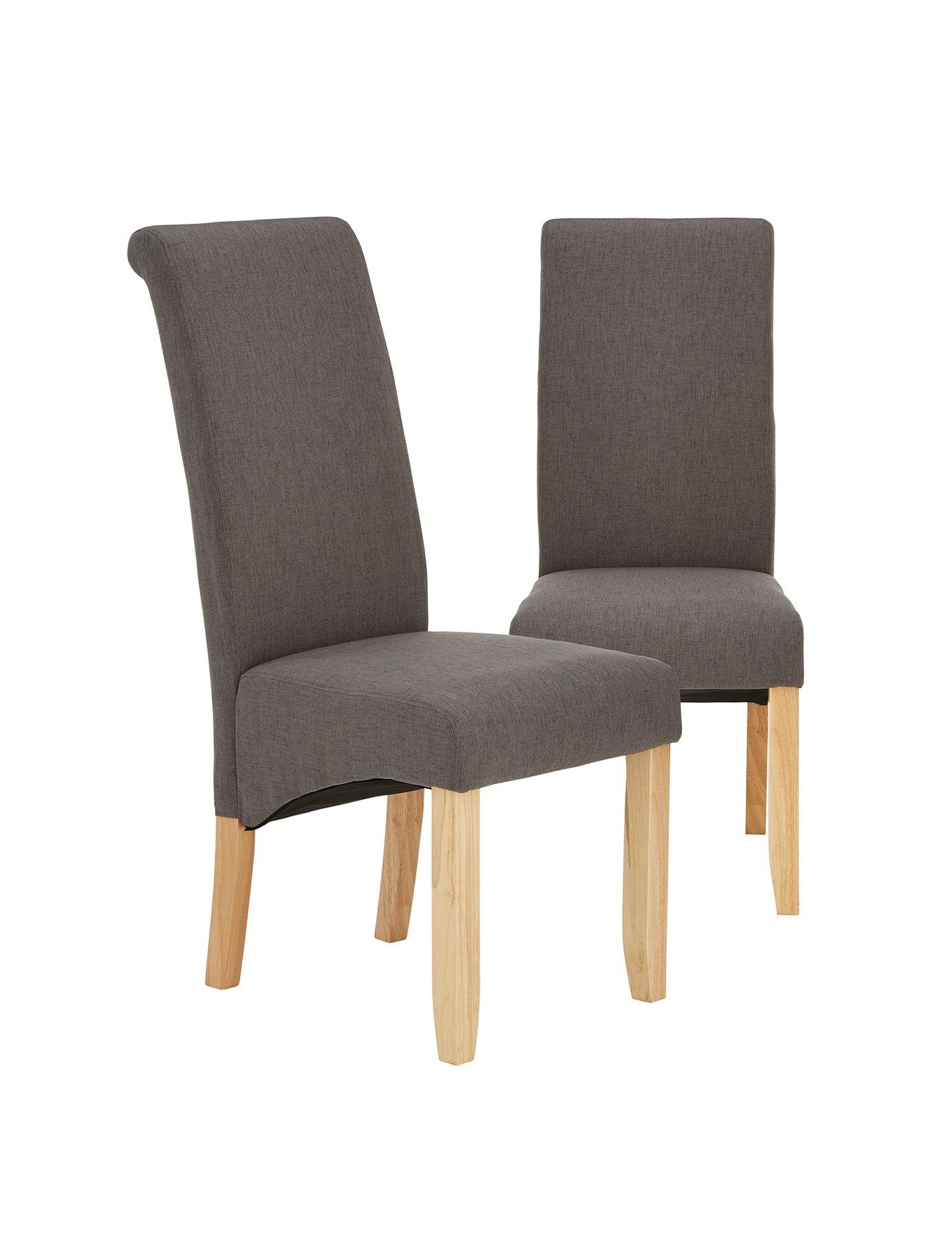Pair Of Chatham Fabric Dining Chairs | Very.co.uk