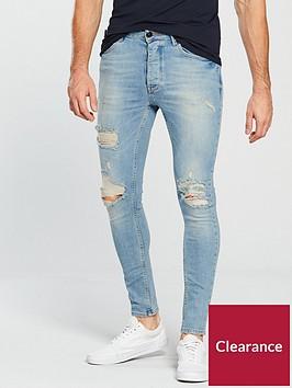 gym-king-gym-king-rip-amp-repair-skinny-jeans