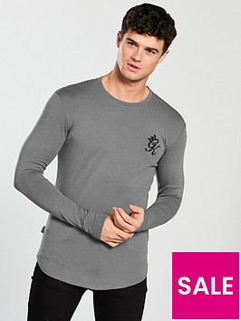 gym-king-long-sleeve-tee
