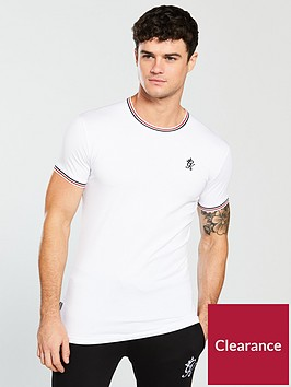 gym-king-signature-piped-tee