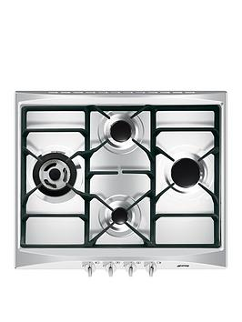 smeg-cucina-sr264xgh-60cmnbspwide-4-burner-gas-hob-with-ultra-rapid-burner-stainless-steel