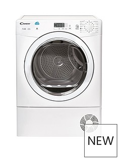 Candy CSVC8LG 8kg Condenser Sensor Tumble Dryer with Smart Touch - White