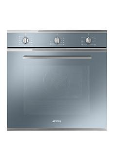 smeg-cucina-sf64m3vs-60cm-electric-single-built-in-oven-ndash-silver-glass