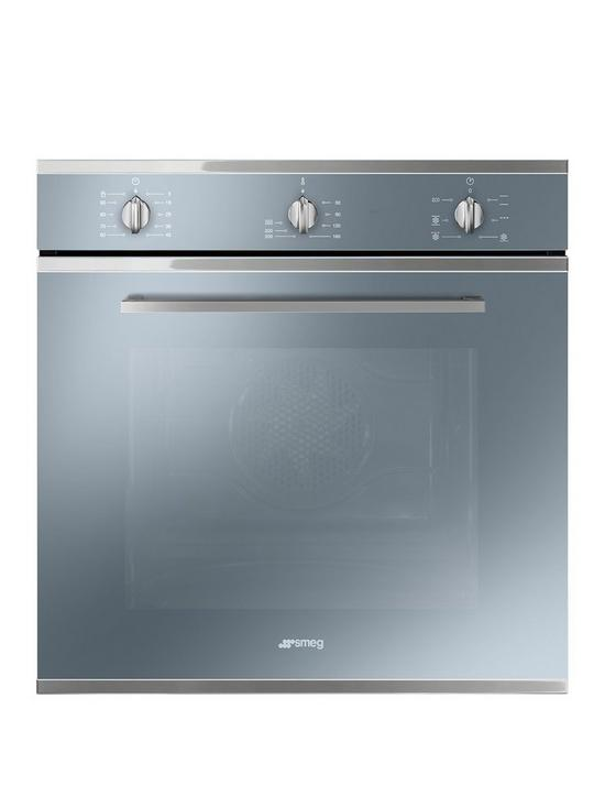 Smeg Cucina SF64M3VS 60cm Electric Single Built In Oven – Silver ...