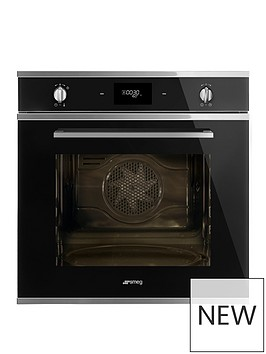 smeg-cucina-sfp6401tvn-60cm-multifunction-built-in-electric-oven-with-pyrolyticnbspcleaning-black
