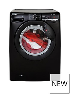 Hoover DXOA69LB3B Dynamic Next 9kg Load, 1600 Spin Washing Machine with One Touch - Black