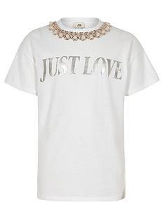 river-island-girls-white-039just-love039-t-shirt