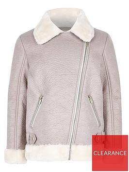 river-island-girls-grey-faux-fur-aviator-jacket