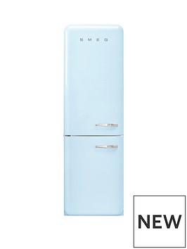 smeg-fab32-60cm-retro-style-left-hand-hinge-frost-free-fridge-freezer-pastel-blue