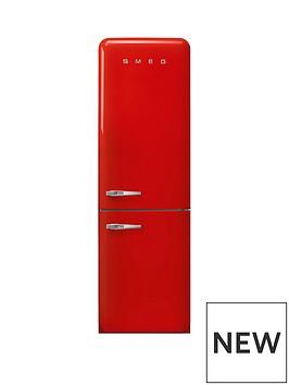 smeg-fab32-60cm-retro-style-right-hand-hinge-frost-free-fridge-freezer-red