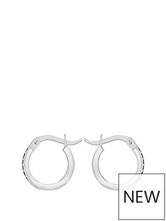 love-gold-9ct-white-gold-10mm-cubic-zirconia-hoop-earrings
