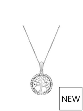 love-gold-9ct-white-gold-amp-cubic-zirconia-tree-of-life-pendant-necklace