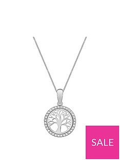 love-gold-9ct-white-gold-cubic-zirconia-tree-of-life-pendant-necklace