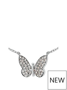 the-love-silver-collection-rhodium-plated-sterling-silver-amp-cubic-zirconia-butterfly-pendant-necklace