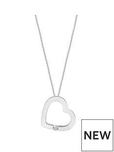 love-diamond-9ct-white-gold-25-point-diamond-heart-pendant-necklace