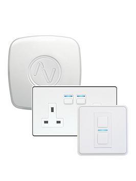 lightwave-gen-2-lighting-amp-power-starter-kit-white-works-with-apple-homekit-google-assistant-and-amazon-alexa