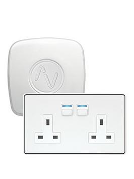 lightwave-smart-power-starter-kit-white-works-with-apple-homekit-google-assistant-and-amazon-alexa