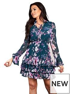 sistaglam-loves-jessica-ruffle-tea-dress-floral-print