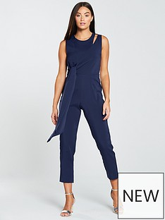 lavish-alice-tapered-jumpsuit-with-draped-side-tie-detail-navy