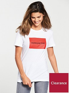 calvin-klein-institutional-box-slim-fit-tee-white-red