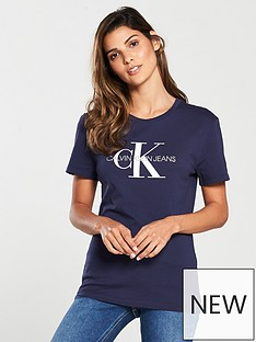 calvin-klein-monogram-logo-slim-fit-t-shirt-navy