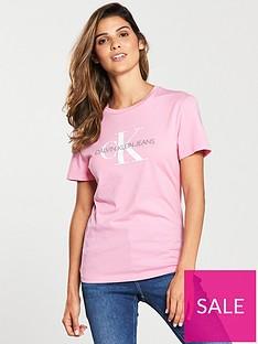calvin-klein-monogram-logo-slim-fit-t-shirt-pink