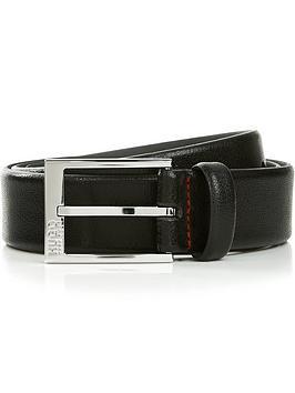 hugo-mens-gello-embossed-leather-belt-black