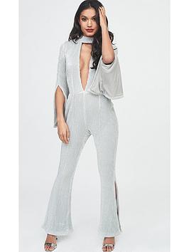lavish-alice-iridescent-sequin-deep-plunge-choker-jumpsuit-silver