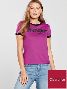 wrangler-ringer-t-shirt-pink