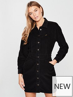 wrangler-black-cord-western-dress