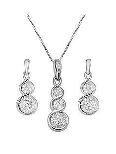 love-diamond-9ct-white-gold-graduated-15-point-diamond-pendant-necklace-amp-earrings-set
