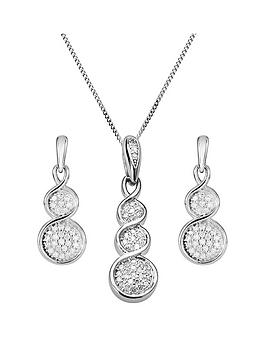 love-diamond-9ct-white-gold-graduated-15-point-diamond-pendant-necklace-amp-earrings-set