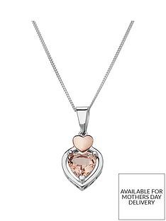 love-gem-rose-gold-plated-sterling-silver-morganite-heart-pendant-necklace