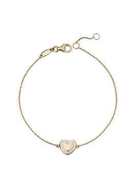 love-diamond-gold-plated-sterling-silver-diamond-set-heart-bracelet