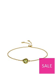love-gem-gold-plated-sterling-silver-peridot-friendship-bracelet