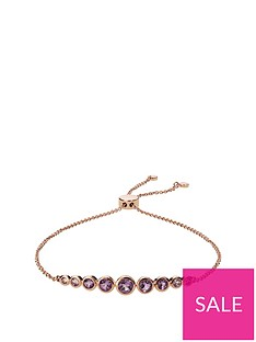 love-gem-rose-gold-plated-sterling-silver-graduated-pink-amethyst-friendship-bracelet