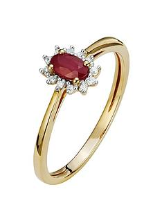 love-gem-9ct-gold-diamond-set-created-ruby-halo-ring